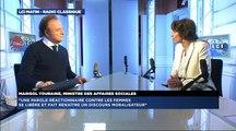 Marisol Touraine, invitée de Guillaume Durand avec LCI