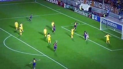 Leo Messi hattrick et record de buts en Ligue des Champions !