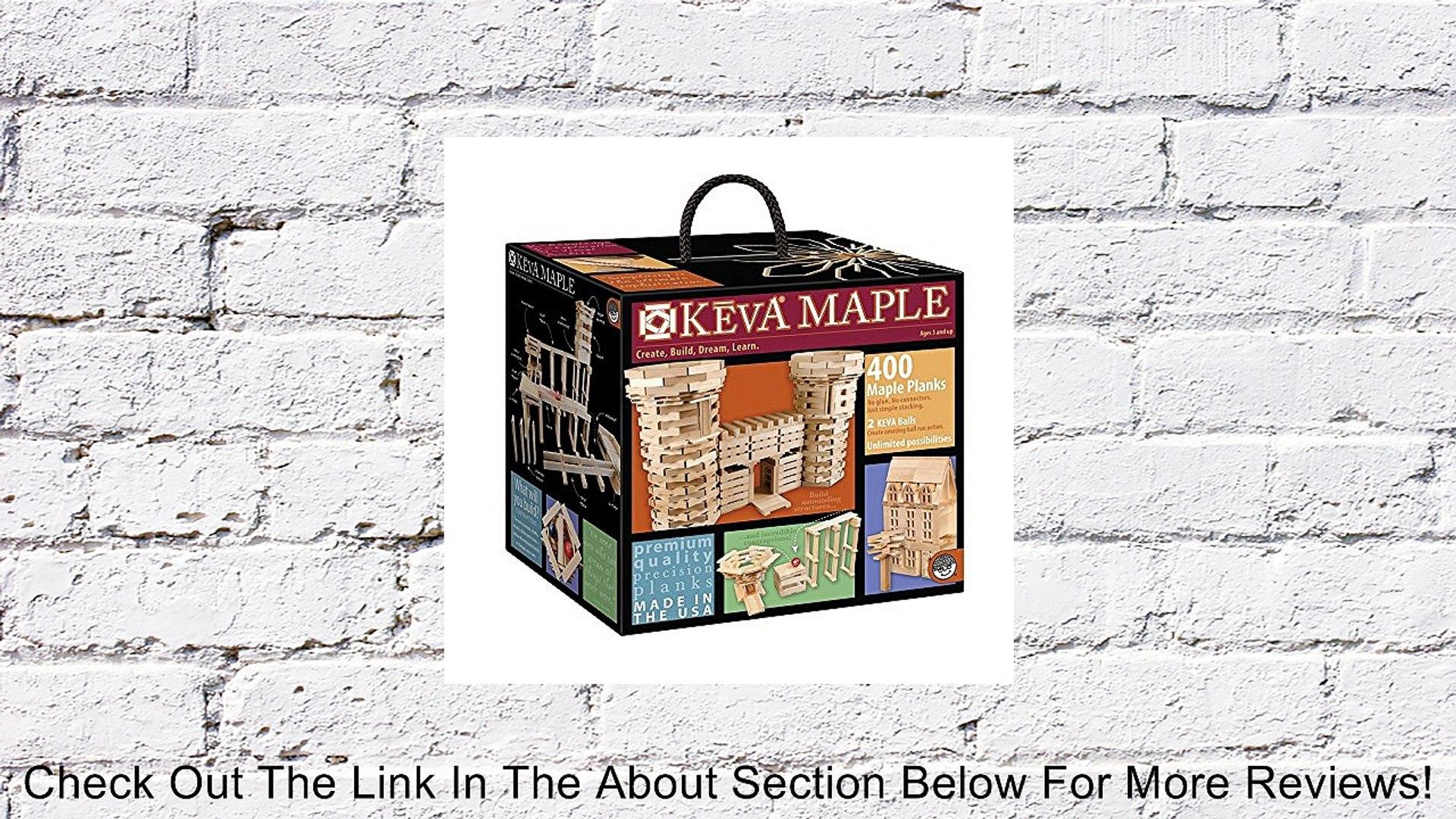 KEVA Maple 400 Plank Set Review