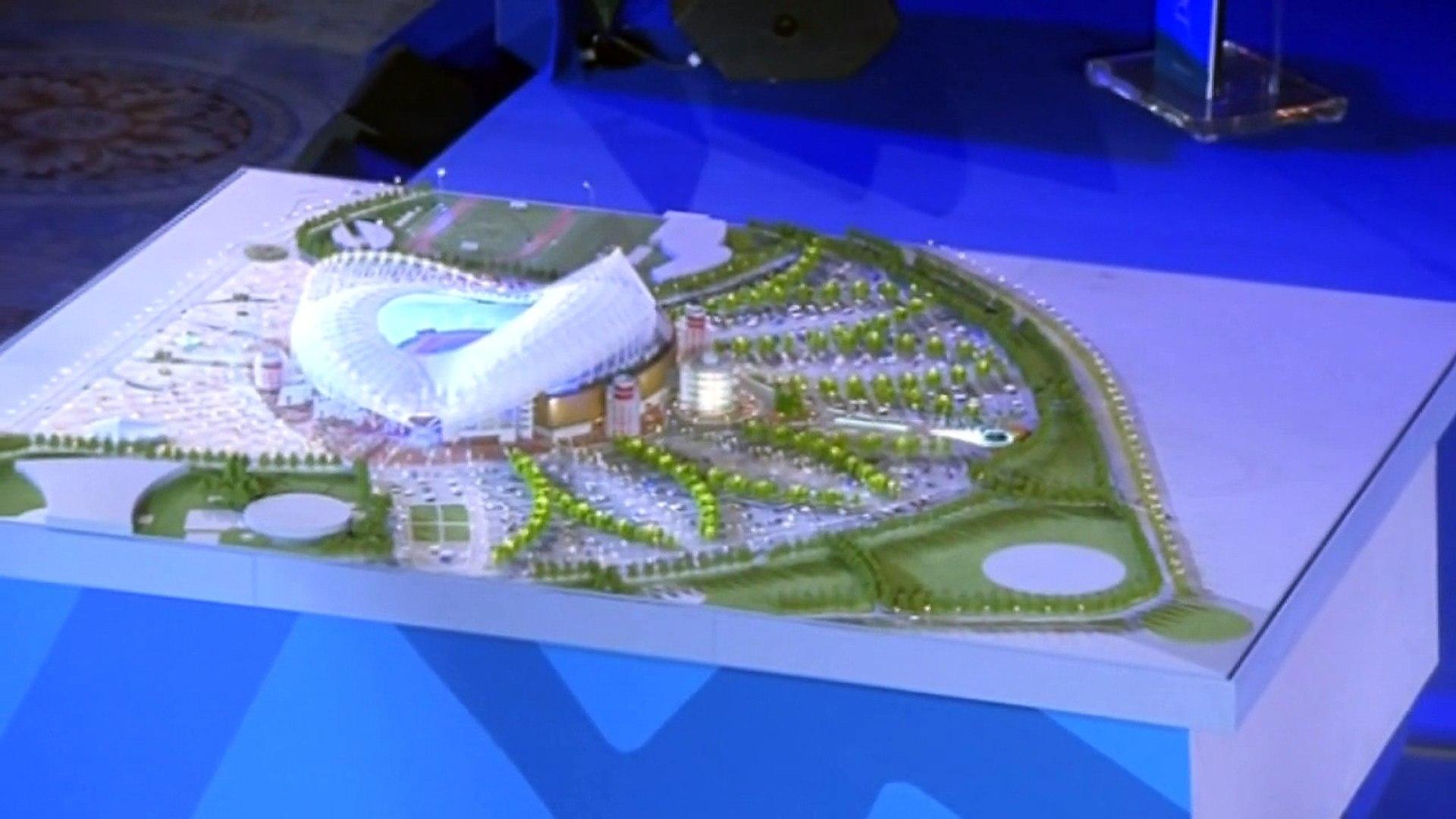 Qatar showcase 2022 World Cup stadium