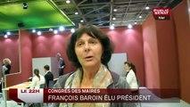 Congrès des Maires de France : François Baroin élu président