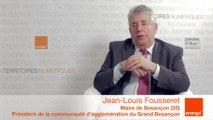 smcl 2014 : itw de J-L. Fousseret, Maire de Besançon et Président de la communauté d'agglomération du Grand Besançon
