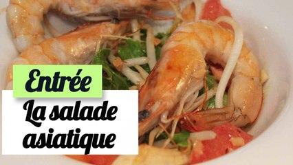 La salade asiatique - Recette entrée