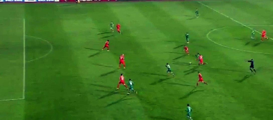 Dani Abalo Goal Ludogorets 1 - 0 Liverpool 26-11-2014