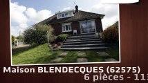 A vendre - BLENDECQUES (62575) - 6 pièces - 113m²