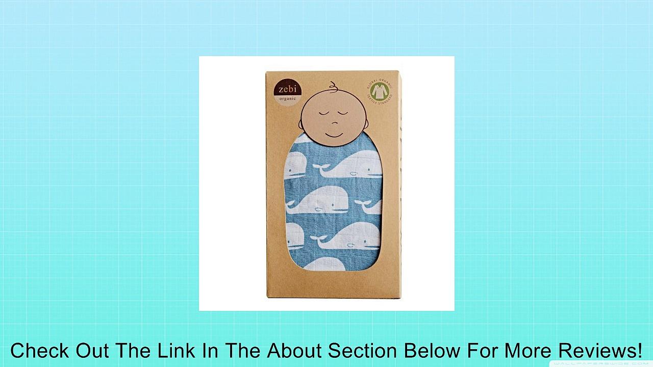 Zebi Organic Muslin Swaddle Blanket Review