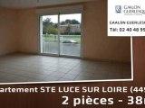 Location - Appartement - STE LUCE SUR LOIRE (44980)  - 38m²