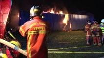 Faits divers : incendie d'origine inconnue déclenché à Saint-Aubin-la-Plaine