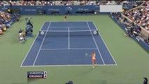 US Open 2014 1st Round Highlight Maria Sharapova vs Maria Kirilenko
