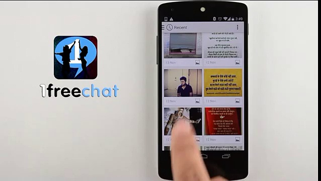 1freechat! Chat rooms and social network.