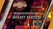Avant-Match - J10 - Orléans reçoit le BCM Gravelines