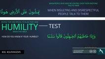 Be Humble - Quran Gems - NAK Illustrated