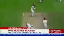 Phillip Hughes Hit by a Bouncer on Head (VIDEO) Phil Hughes Dies From Head Injury