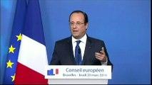"""""""Toute comparaison avec des dictatures est insupportable"""", répond Hollande"""