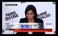 """Anne Hidalgo fière d'être """"la première femme maire de Paris"""""""