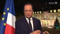 Les voeux de François Hollande pour 2014