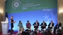 [#ConfEnvi] Tables rondes de la Conférence environnementale