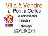 Villa à vendre  dans la rue de Luttre 21 à 6230 Pont-à-Celles (Hainaut) en vente urgente,  cette excellente opportunité d'achat, mise en vente bien en dessous de sa valeur de construction, une belle maison de 2012 en vente pour 299.000 €