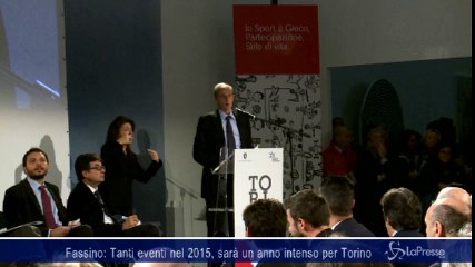 Fassino: Tanti eventi nel 2015, sarà un anno intenso per Torino
