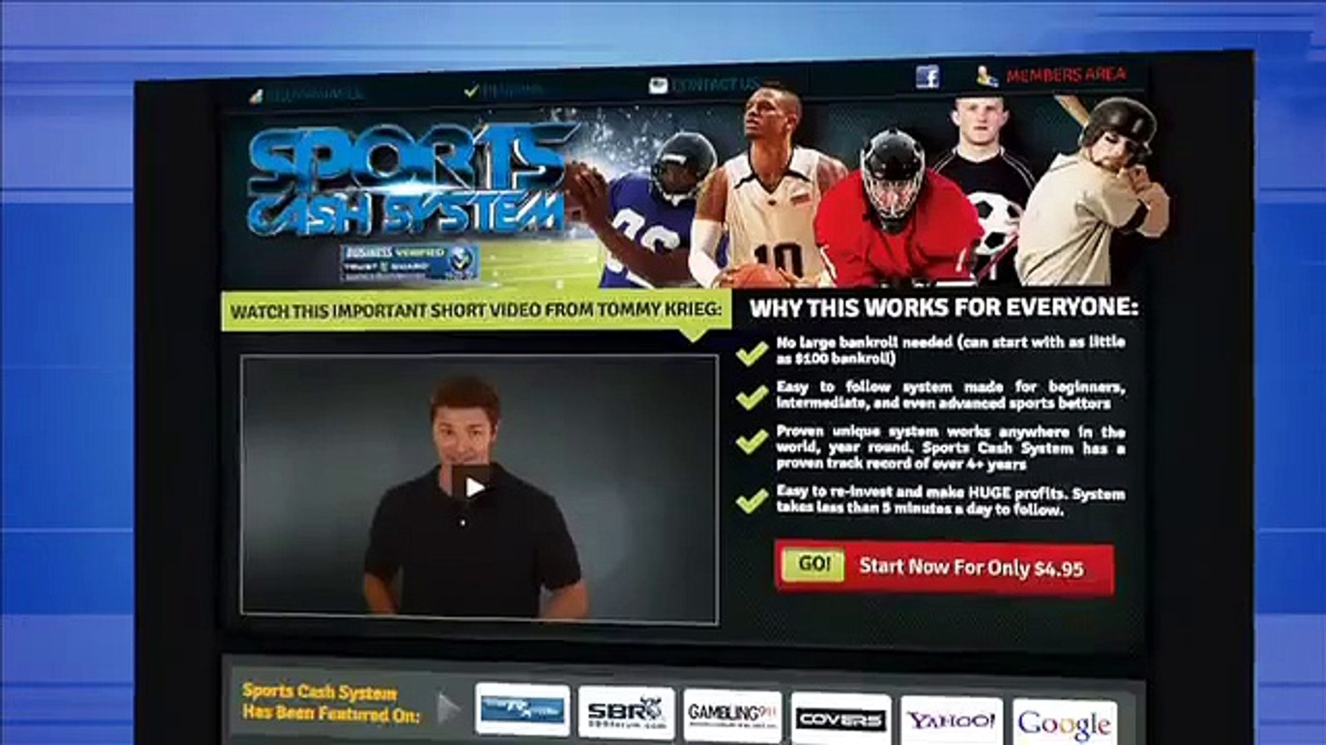Sports Cash System - Online Sports Betting Online - Watch Sports and Bet Online