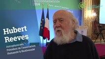 La parole aux participants de la #ConfEnvi : Hubert Reeves, astrophysicien et président de l'association Humanité & Biodiversité