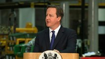 David Cameron: Restrictions on migrants claiming benefits