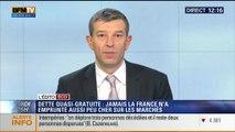 """L'Édito éco de Nicolas Doze: Le taux d'emprunt à 10 ans de la France tombe sous les 1%: """"c'est une très bonne nouvelle !"""" - 28/11"""