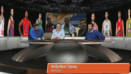 Ο Αλέξανδρος Τρίγκας στην Super basketball 27-11-2014