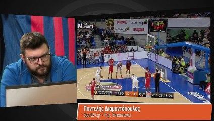 Ο Π. Διαμαντόπουλος στην Super basketball 27-11-2014