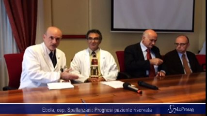 Ebola, medico Spallanzani: Prognosi resta riservata, paziente è sotto osservazione