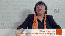 smcl 2014 : itw d'E.Laroche, Première adjointe de Châteauneuf-le-Rouge (13)