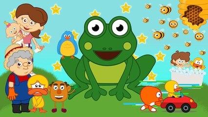 Küçük Kurbağa ve 10 Çocuk Şarkısı daha - Sevimli Dostlar - Adisebaba Çocuk Şarkıları