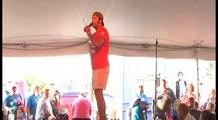 Robert Washington sings Just Pretend at Elvis Week 2012 video