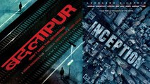 Varun Dhawan's Badlapur Poster COPIED From Inception ?