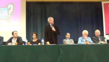 la réunification de la Normandie en débat à Avranches - 27 novembre 2014