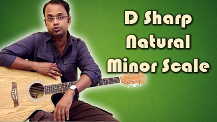How To Play - D Sharp Natural Minor Scale - Guitar Lesson For Beginners