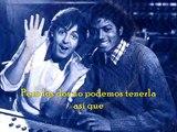 Michael Jackson&paul mc cartney- The Girl Is Mine- subtitulado al español