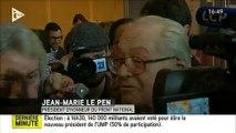 Jean-Marie Le Pen compare les honneurs rendus à de Gaulle par Florian Philippot et quelqu'un qui irait sur la tombe de Pétain