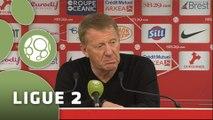 Conférence de presse Stade Brestois 29 - US Créteil-Lusitanos (2-2) : Alex  DUPONT (SB29) -  (USCL) - 2014/2015