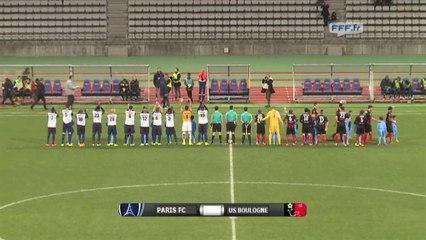 Paris FC 1 - 3 Boulogne USCO (28-11-2014)