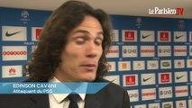PSG. Cavani : «Le PSG avait l'obligation de gagner»
