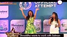 Salman Ke Saath Kaam Karne Ki Hai Actress Shraddha Kapoor Ki Khwaish !