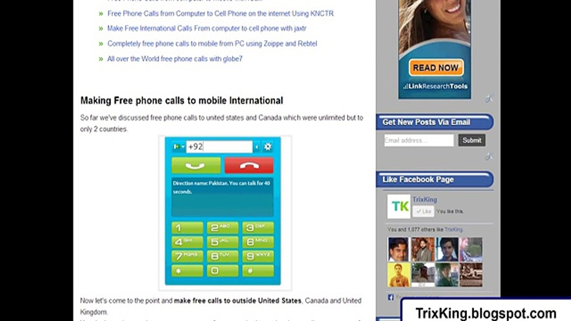 free phone calls online from computer