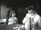 VINTAGE 1960's CEREAL COMMERCIAL ~ GIRL HAS HER DADDY WRAPPED AROUND HER LITTLE FINGER