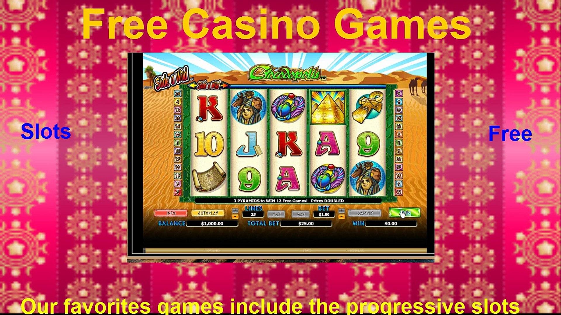 Play Free Casino Games {free Crocodopolis casino game}