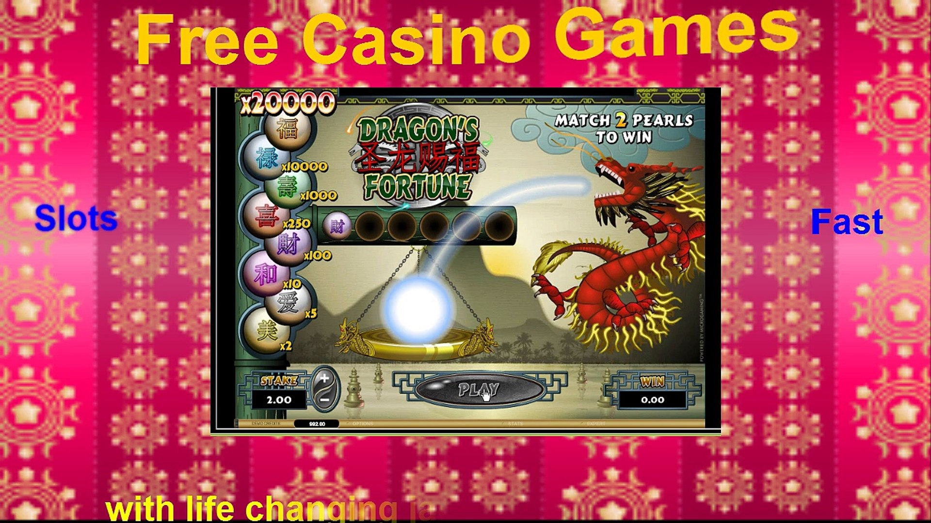 Play Free Casino Games {free Dragons Fortune casino game}