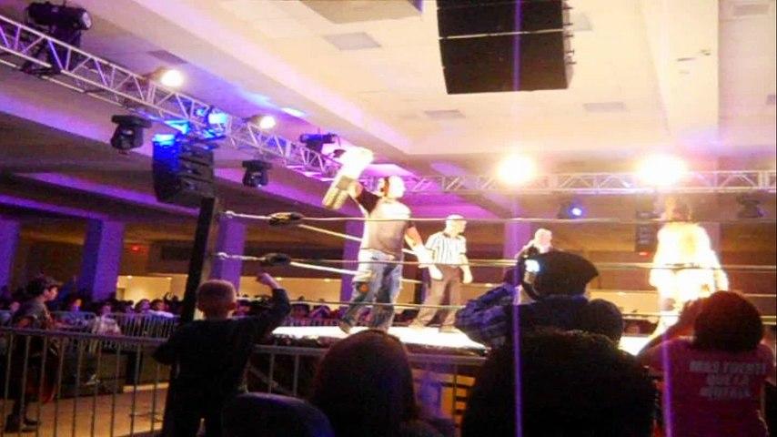 WrestleCade 2014 - Matt Hardy vs. Drew Galloway Footage