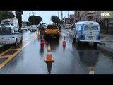Veículos se envolvem em acidente na Andrade Neves