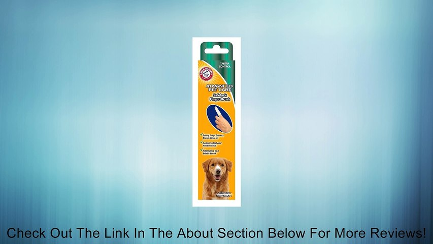Arm and Hammer Advanced Care Safelock Finger Brush Review