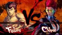 Ultra Street Fighter IV - FeiLong VS C.Vipor 28/11/2014 HD